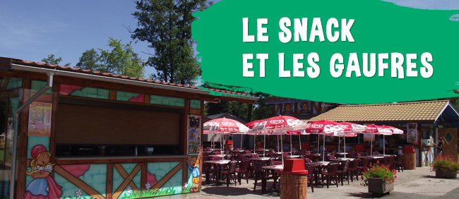 Le Barce Ice et le Snack